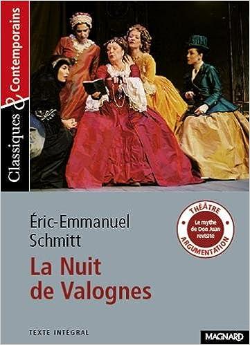 La Nuit De Valognes D Eric Emmanuel Schmitt French Edition
