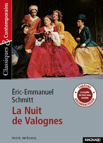 La nuit de Valognes d'Eric-Emmanuel Schmitt (French Edition)