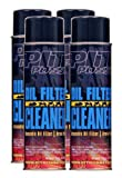 Pit Posse PP3232-4 4-12Oz Cans Of Oil Filter Cleaner Degreaser Motorcycle ATV Dirt Bike Made In USA