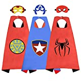 Party Favors Toys for 3-10 Year Old Boys, Fun Cartoon Capes for Kids Birthday Gifts Presents for...