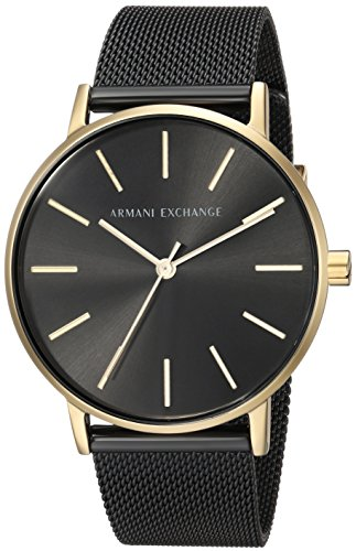 Armani Exchange Women's Black Stainless Steel  Watch AX5548 (Armani Exchange Women Watches)