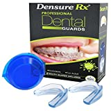 Densure Rx Mouth Guards- Pack Of 2- Professional Dental Guards- Clinically Tested- Relief From Bruxism, TMJ, Teeth Grinding-Adjustable size-Protection...for Atheletes