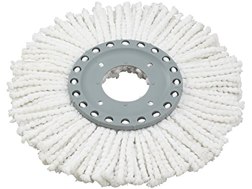 Leifheit Clean Twist Disc Active Replacement Mop Head, 4 x 22.5 x 26 cm, White
