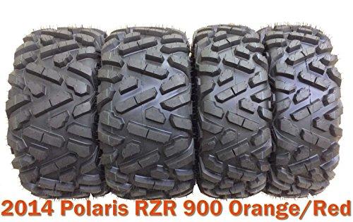 Buy rzr rims and tires orange
