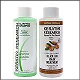 Complex Brazilian Keratin Hair Treatment Professional results Straighten and Smooths Hair (CS 120ml + KT 120ml)