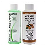 Complex Brazilian Keratin Hair Blowout Treatment Professional Results Straighten and Smooths Hair (CS 120ml + KT 120ml) Queratina Keratina Brasilera Tratamiento Review