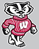 wisconsin badgers auto - Wisconsin Badgers 4 X 4 Square Decal