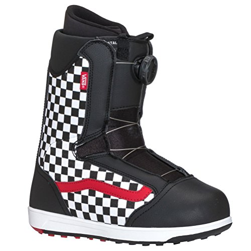 Vans Brystal Kid's Snowboard Boots 2017, Black Checker for sale  Delivered anywhere in USA