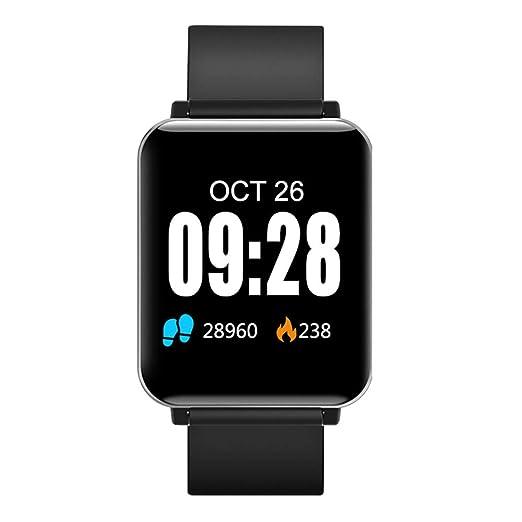 WoCoo - Reloj Inteligente para Mujer y Hombre, Resistente al ...
