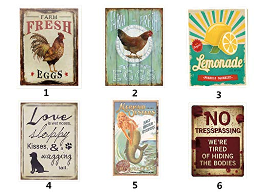 - Needyounow Mermaid Advertising Sign Wall Art, from Our Water Collection 12