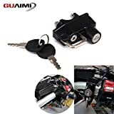 GUAIMI Motorcycle Helmet Lock With Keys for Yamaha