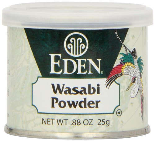 Eden Wasabi Powder, 0.88-Ounce tins (Pack of 6) by Eden