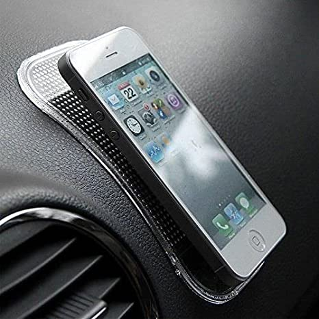 Non-Slip Dashboard Mat Sticky Pu Pad Holder for Mobile Phone Car Accessories