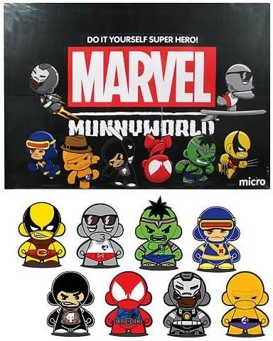 Marvel Micro Munny Vinyl DIY Munnyworld Series 2 Kidrobot Silver Surfer