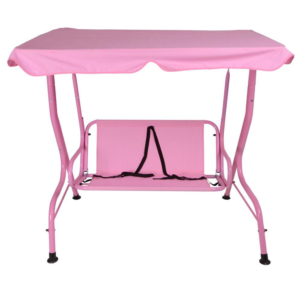 kids 2 seat pink garden swing hammock w  saftey belts  amazon co uk  garden  u0026 outdoors kids 2 seat pink garden swing hammock w  saftey belts  amazon co      rh   amazon co uk
