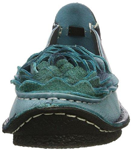 Jeans Flats Laura Viviane Ballet Vita Women's Blau fxqw40