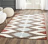 Safavieh Dhurries Collection DHU647A Hand Woven Multicolored Premium Wool Area Rug (8′ x 10′) Review