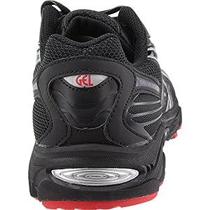 ASICS Gel Vanisher Men's Running Shoes Black/Stone/Classic Red t70bq-9095 (10.5 D(M) US)