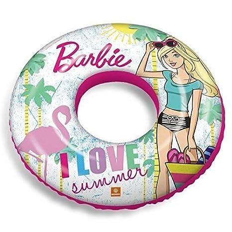 Inflable Flotador / Anillo Inflable / Flotador Barbie Verano: Amazon.es: Juguetes y juegos