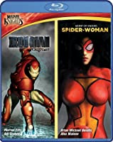 Marvel Knights: Iron Man & Spider Woman [Blu-ray] by Shout! Factory
