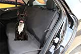 Homeyone Anti-Slip Waterproof Dog Pet Travel Bench Back Seat Cover Protector for Leather seats Washable (Black) Review