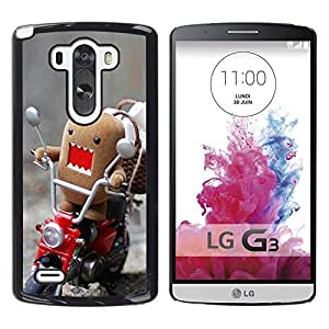 Impact Case Cover with Art Pattern Designs FOR LG G3 Funny Domo Rawr Betty shop
