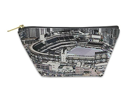 Gear New Accessory Zipper Pouch, Petco Park Line Drawing, Large, 5597380GN