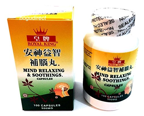 Royal King Mind Relaxing & Soothings (Siberian Ginseng Root & Cordyceps) 100 ()