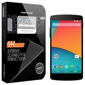 Spigen Google Nexus 5 Screen Protector Glass [GLAS.t SLIM] Slim and Lightweight Tempered Glass Screen Protector Clear - GLAS.t SLIM (SGP10557)