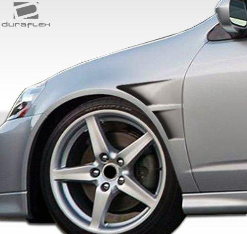 Duraflex ED-SUV-999 GTC Fender - 2 Piece Body Kit - Compatible For Acura RSX ()
