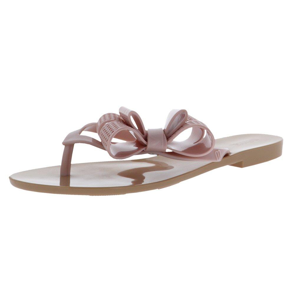 Beige Pink Melissa shoes Women's Harmonic Bow V