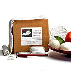 Make your own mozzarella and ricotta cheeses from scratch with our Italian Cheese Making Kit!       If you've ever wished you had some fresh mozzarella on hand for homemade pizza, or ricotta for a gourmet lasagna, this is the do-it-you...