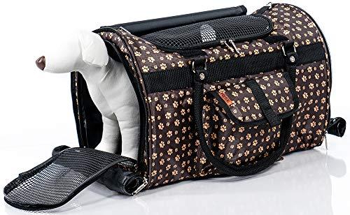 Prefer Pets Travel Gear 312PW Hideaway Duffle Pet Carrier, Medium