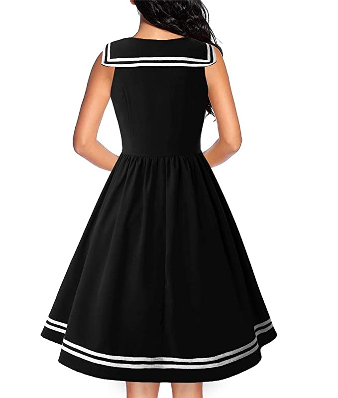 Amazon.com: Vanbuy - Vestido para mujer, sin mangas, estilo ...