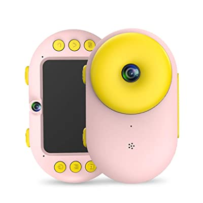 AZFUNN Kids Camera Sports Action DV Camcorder, 8.0MP Rechargeable Shockproof Waterproof Underwater Digital Cameras for 3-10 Year Old Child Party Outdoor Sport Water Play (Pink): Toys & Games