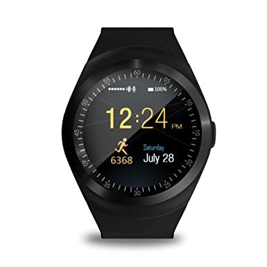 FATMOON Y1 Bluetooth Reloj inteligente diferente Reloj telefono celular Desbloqueado Para Android, iPhone, Samsung