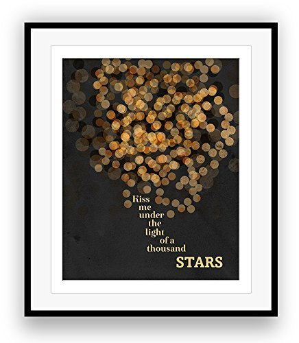 THINKING OUT LOUD by Ed Sheeran Song Lyrics Art Print (Lyrics Thinking Out Loud)