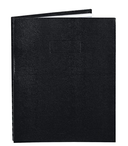 Notepro Notebook - Blueline NotePro Notebook, Black, 11 x 8.5 inches, 200 Pages (A10200.BLK)