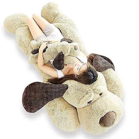 Amazon.com: elfishgo - Almohada de peluche grande para perro ...