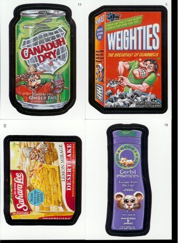 2007 Topps Wacky Packages Series 5 Complete Set of 55 Parody Stickers!! (2007 Wacky Packages)