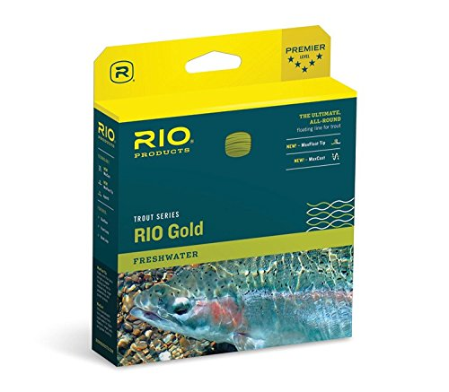 Rio Gold Fly Fly Line WF5F Moss/Gold