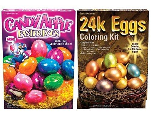 Easter Egg Bling Dye Bundle 24k & Candy Apple Kits
