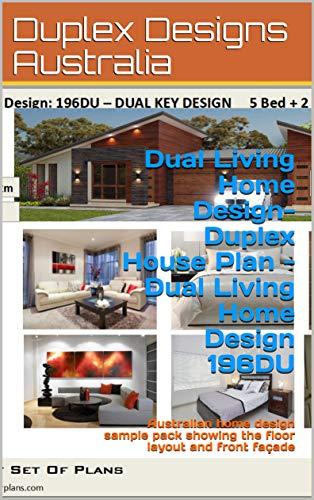 Dual Living Home Design Duplex House Plan Dual Living Home Design
