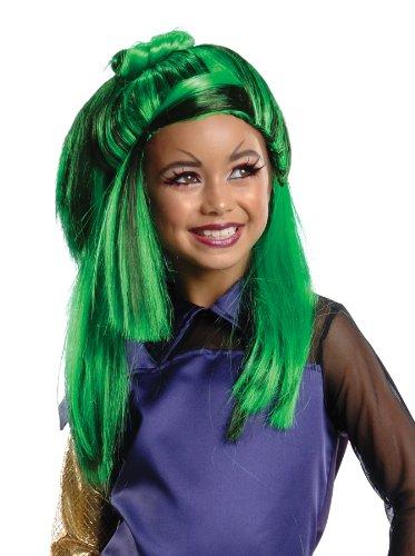 girls - kids-Monster High Jinafire Child Wig Halloween Costume]()