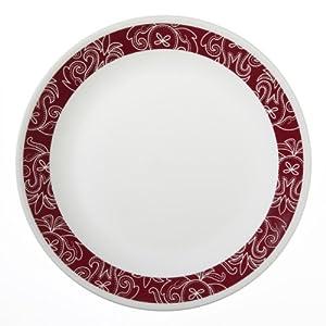 Corelle Livingware 6-Piece Dinner Plate Set, Bandhani