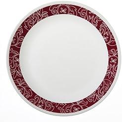 Corelle Livingware 6-Piece Dinner Plate Set Bandhani  sc 1 st  Amazon.com & Amazon.com: CORELLE - Dinner Plates / Plates: Home u0026 Kitchen