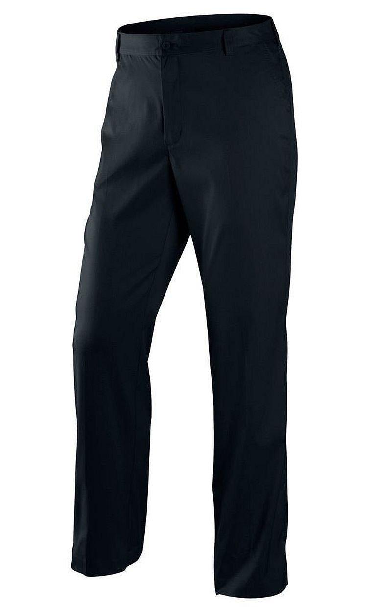 Nike Men's Dri-FIT Flat Front Tech Golf Pants, Black, 34x32