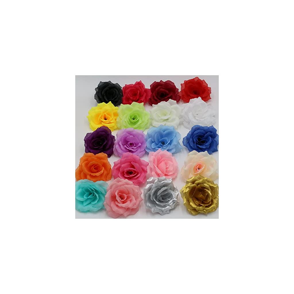 Silk-Flowers-Wholesale-100-Artificial-Silk-Rose-Heads-Bulk-Flowers-10cm-for-Flower-Wall-Kissing-Balls-Wedding-Supplies