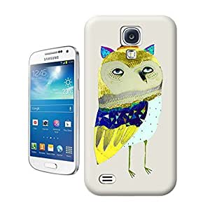 The golden feather Owl Hard Cover for samsung galaxy s4 cases Unique samsung Case