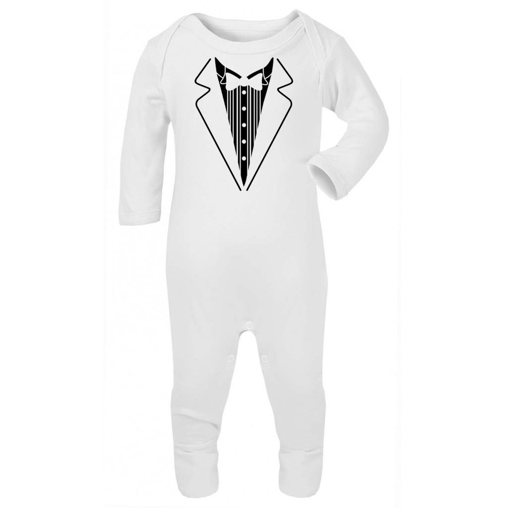 Shirt Smoking mit Fliege Carina Baby Strampler f/ür Baby Shower